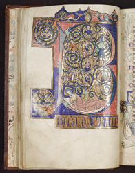 Psalm 1, in the Huth Psalter